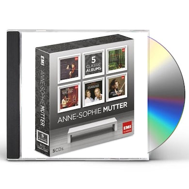 Anne-Sophie Mutter 5 CLASSIC ALBUMS CD