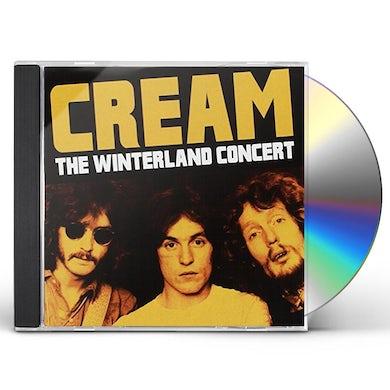 Cream WINTERLAND CONCERT 1968 CD