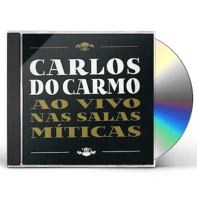 Carlos do Carmo AO VIVO NAS SALAS MITICAS CD