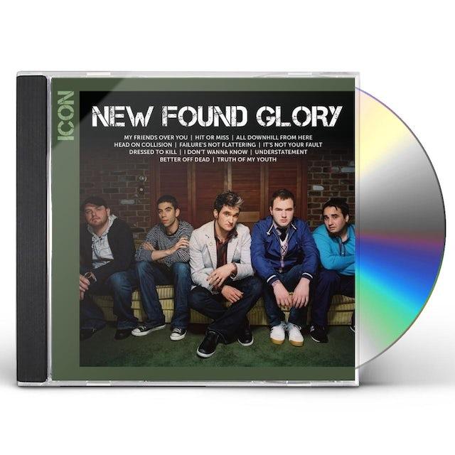 New Found Glory ICON CD