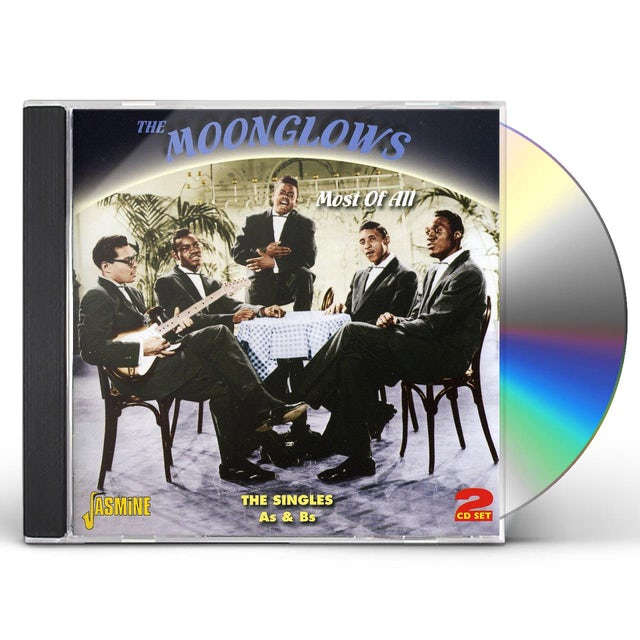 Moonglows MOST OF ALL-SINGLES A & BS CD