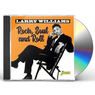Larry Williams ROCK SOUL & ROLL: GREATEST HITS & MORE 1957-1961 CD