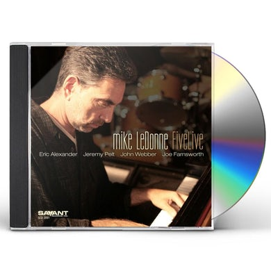 Mike Ledonne FIVELIVE CD