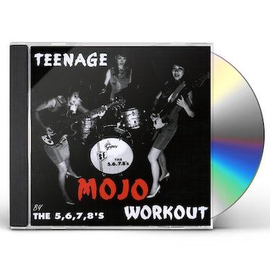The 5.6.7.8's TEENAGE MOJO WORKOUT CD