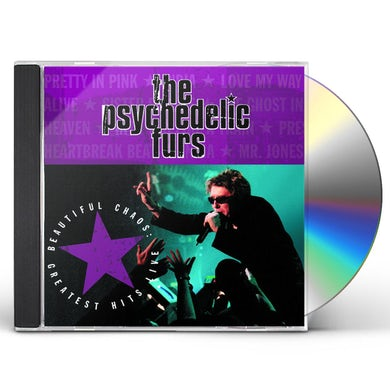 Psychedelic Furs BEAUTIFUL CHAOS: GREATEST HITS LIVE CD