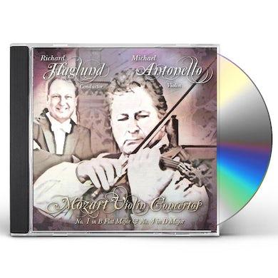 W.A. Mozart VIOLIN CONCERTOS NO. 1 & 4 CD
