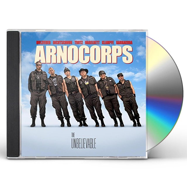 Arnocorps UNBELIEVABLE CD