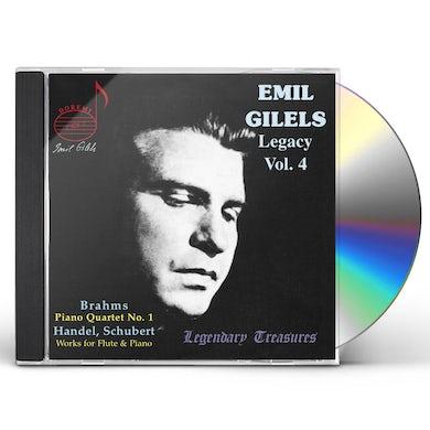 Emil Gilels LEGACY 4 CD