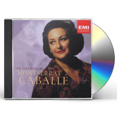 Montserrat Caballe VERY BEST OF CD