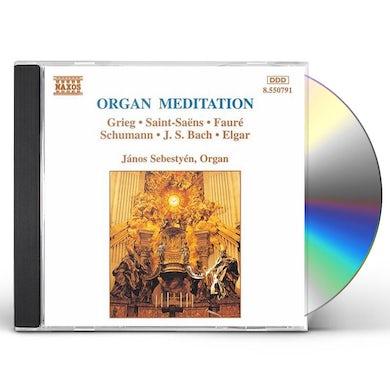 Janos Sebestyen ORGAN MEDITATIONS CD