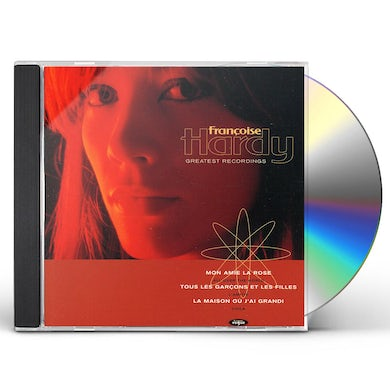 Françoise Hardy GREATEST RECORDINGS CD