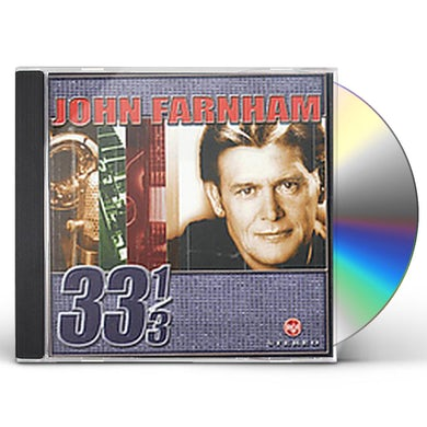 John Farnham 33 1/3 CD