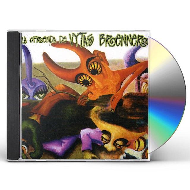 Vytas Brenner LA OFRENDA CD