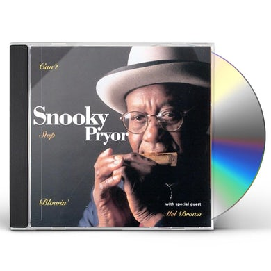 Snooky Pryor CAN'T STOP BLOWING CD