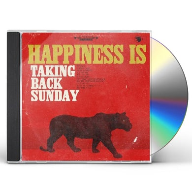 Taking Back Sunday HAPPINESS IS CD