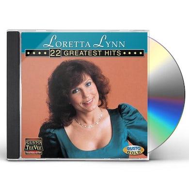 Loretta Lynn 22 GREATEST HITS CD
