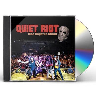 Quiet Riot ONE NIGHT IN MILAN CD