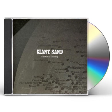 Giant Sand IS ALL OVER THE MAP: 25TH ANNIVERSARY EDITION CD