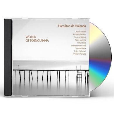 Hamilton de Holanda WORLD OF PIXINGUINHA CD