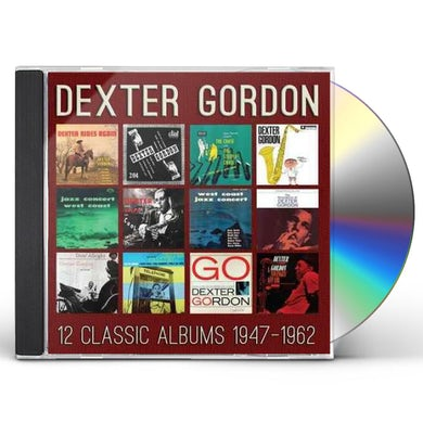 Dexter Gordon 12 CLASSIC ALBUMS: 1947-1962 CD