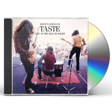 WHAT'S GOING ON TASTE LIVE AT THE ISLE OF WIGHT CD