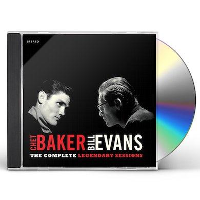 Chet Baker COMPLETE LEGENDARY SESSIONS CD