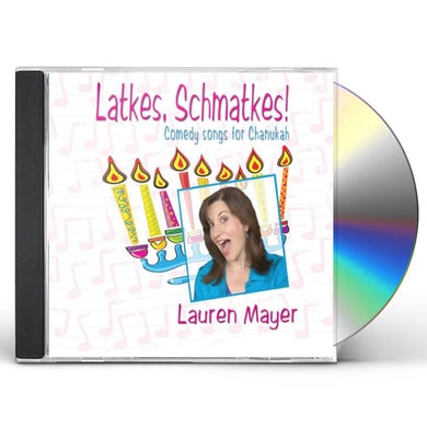 Lauren Mayer LATKES SHMATKES! CD
