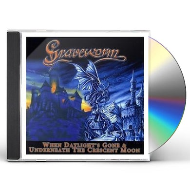 Graveworm WHEN DAYLIGHT'S GONE / UNDERNEATH A CRESCENT MOON CD