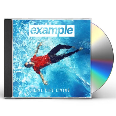 Example LIVE LIFE LIVING CD