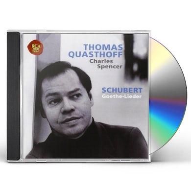 Thomas Quasthoff SCHUBERT: GOETHE-LIEDER CD