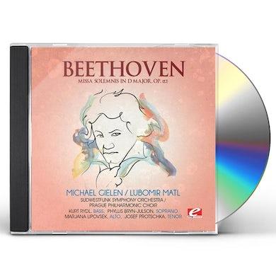 Ludwig Van Beethoven MISSA SOLEMNIS IN D MAJOR CD