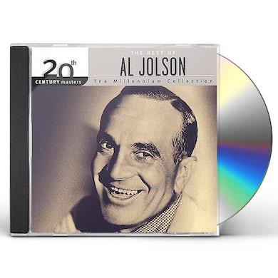 Al Jolson 20TH CENTURY MASTERS: MILLENNIUM COLLECTION CD