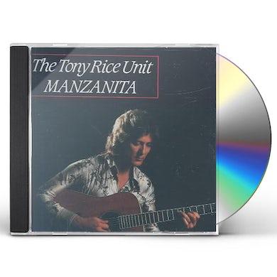 Tony Rice MANZANITA CD