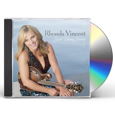 Rhonda Vincent GOOD THING GOING CD