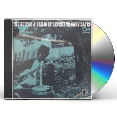 GUITAR & BANJO OF REVEREND GARY DAVIS CD