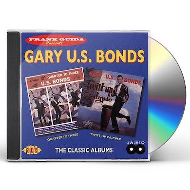 Gary U.S. Bonds QUARTER TO THREE / TWIST UP CALYPSO CD