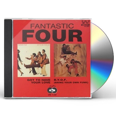 GOT TO HAVE YOUR LOVE/B.Y.O.F (BRING YOUR OWN FUNK CD