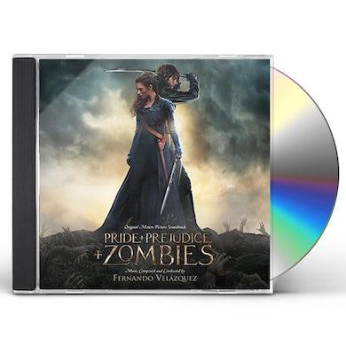 Fernando Velazquez PRIDE & PREJDICE & ZOMBIES (SCORE) / Original Soundtrack CD