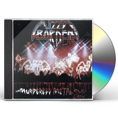 Lizzy Borden MURDERESS METAL ROAD SHOW CD