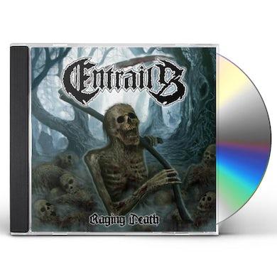 Entrails RAGING DEATH CD