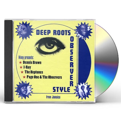Niney The Observer DEEP ROOTS OBSERVER STYLE CD