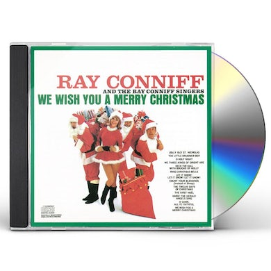 Ray Conniff WE WISH YOU A MERRY CHRISTMAS CD