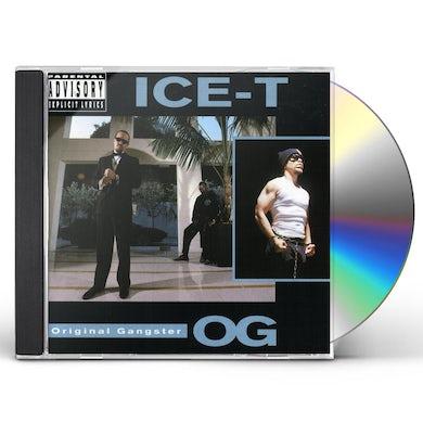 ICE-T O.G. (ORIGINAL GANGSTER) CD