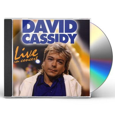 David Cassidy LIVE IN CONCERT CD