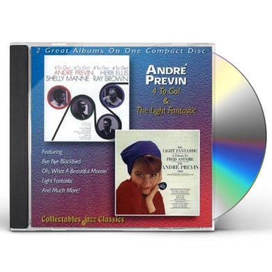 Andre Previn 4 TO GO / LIGHT FANTASTIC CD
