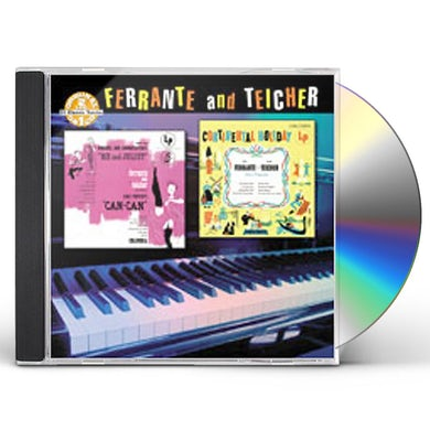 Ferrante & Teicher ME & JULIET / CAN-CAN / CONTINENTAL HOLIDAY CD