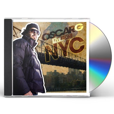Oscar G LIVE FROM NYC CD