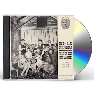 New Lost City Ramblers STRING BAND INSTRUMENTALS CD