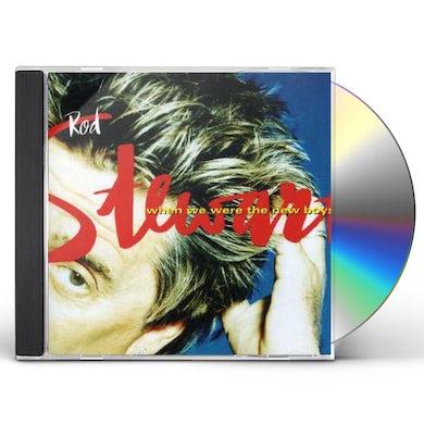 Rod Stewart WHEN WE WERE THE NEW BOYS CD