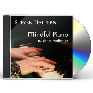 Steven Halpern MINDFUL PIANO: MUSIC FOR MEDITATION CD